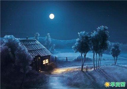 晚上發快手的短句 快手溫柔晚安心語
